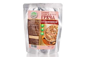 Готовое блюдо Греча со свининой
