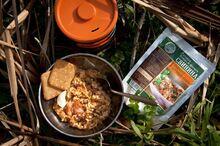 Готовое блюдо Свинина с капустой и перловой кашей