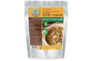 Готовое блюдо Суп крестьянский с грибами