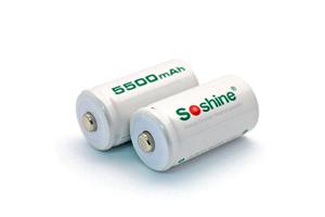 Аккумулятор Soshine LR14 5500 mAh