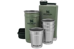 Набор стопок Stanley Adventure 0,59L + Фляга 0,23L Green
