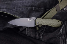 Brutalica Ponomar Folder Olive Blackwash