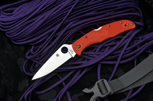 Spyderco Endura 4 Flat Ground Orange