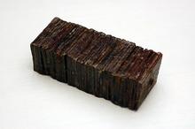 Блок кожи (коричневый)