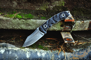 Schrade Clip Point Fixed Blade