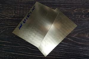 Латунь листовая М1 145х95х1 мм