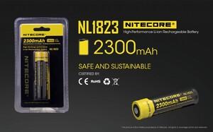 Аккумулятор Nitecore 18650 2300 mAh