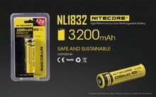 Аккумулятор Nitecore 18650 3200 mAh