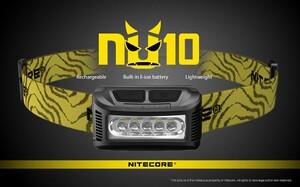 Nitecore NU10 Yellow