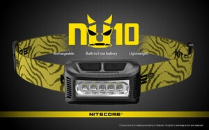 Nitecore NU10 Black