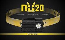 Nitecore NU20 Yellow