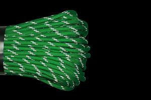 Паракорд 550 CORD Световозвращающий Neon Green