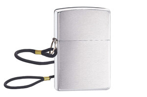 Zippo Lossproof Brushed Chrome