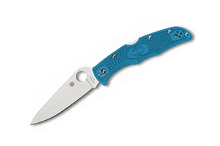 Spyderco Endura 4 Flat Ground Blue