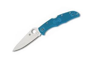 Spyderco Endura 4 Flat Ground Blue