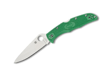 Spyderco Endura 4 Flat Ground Green