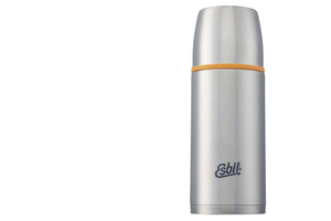 Термос Esbit ISO, cтальной-оранжевый, 0,75л