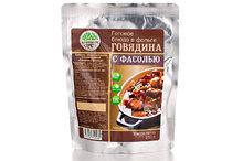Готовое блюдо Говядина с фасолью
