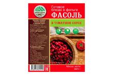 Готовое блюдо Фасоль красная в томатном соусе
