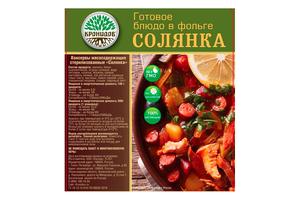 Готовое блюдо Солянка