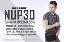 Сумка Nitecore NUP30