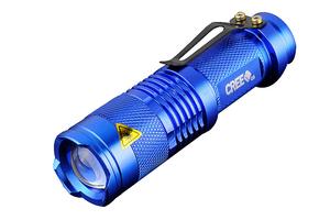 Фонарик CREE Q5 Blue