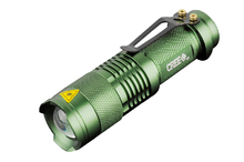 Фонарик CREE Q5 Dark Green